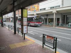 「山王三丁目」バス停留所