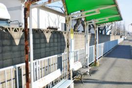 「宮の上南口」バス停留所
