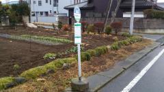 「井堤神社入口」バス停留所