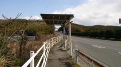 「名阪桑名インター口」バス停留所