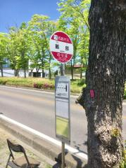 「畝部」バス停留所
