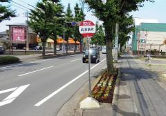 「前洞新町」バス停留所