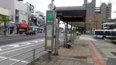 「一之江駅前(東側)」バス停留所