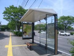「根岸町」バス停留所