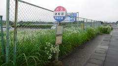 「津和田」バス停留所