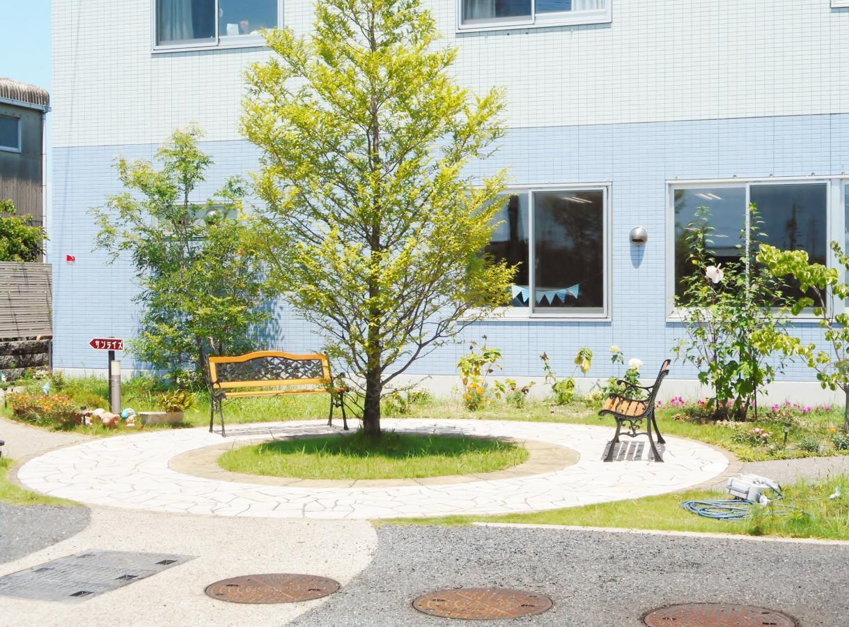庭園の外観