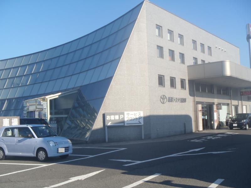 新潟トヨタ自動車新潟店_施設外観