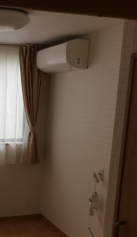 居室エアコン、ナースコール