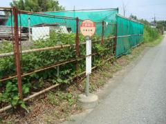 「立野新田」バス停留所