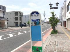 「博労町」バス停留所