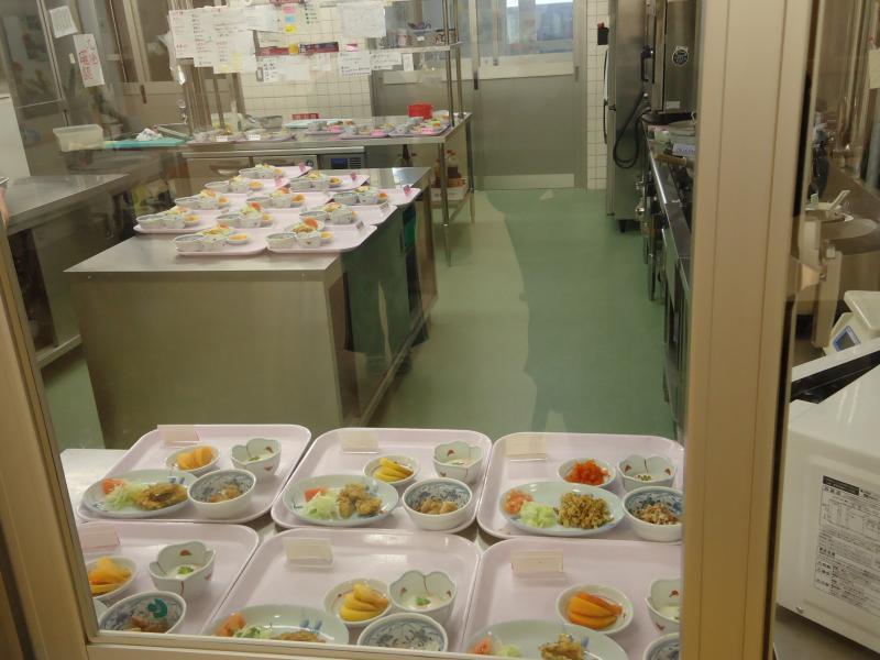 調理室の風景