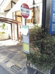 「香嵐渓一の谷口」バス停留所