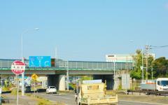 「本新町」バス停留所