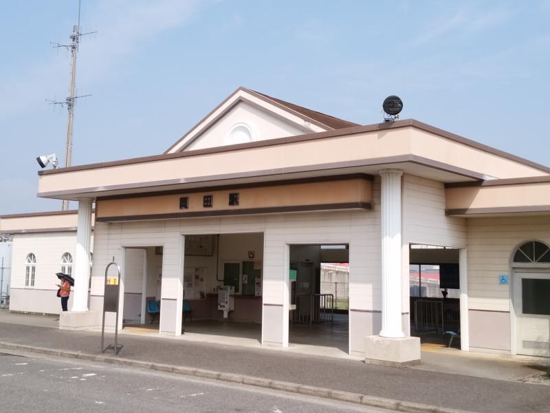 高松琴平電気鉄道琴平線岡田駅(...