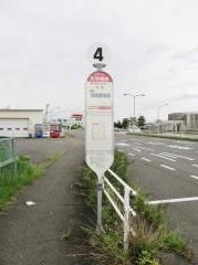 「天空橋駅」バス停留所