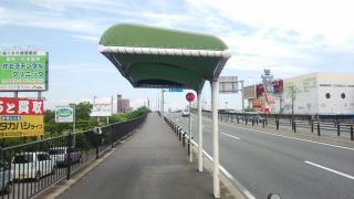 「江松」バス停留所