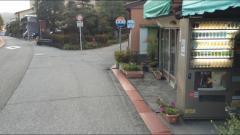 「長坂辻」バス停留所
