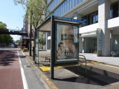 「紺屋町」バス停留所