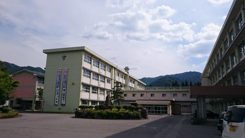 飛騨神岡高校(飛騨市神岡町小萱...