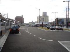 「長尾駅」バス停留所