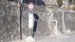 「則定本郷」バス停留所