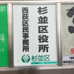 杉並区役所西荻窪駅前事務所