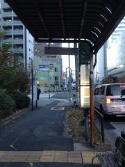 「食肉市場前」バス停留所