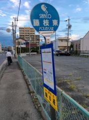 「藤枝東」バス停留所