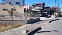 「滝坂」バス停留所