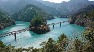 奥大井湖上