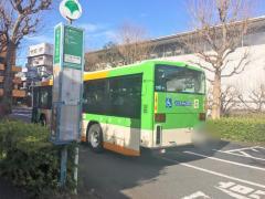 「千駄ケ谷八幡前」バス停留所
