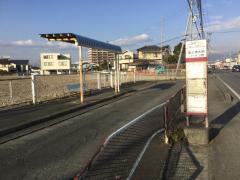 「富士通大岡ハイツ前」バス停留所
