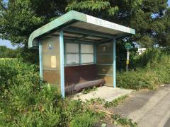 「市民プール」バス停留所