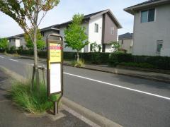 「かずさの杜入口」バス停留所