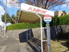 「各務原市民会館前」バス停留所