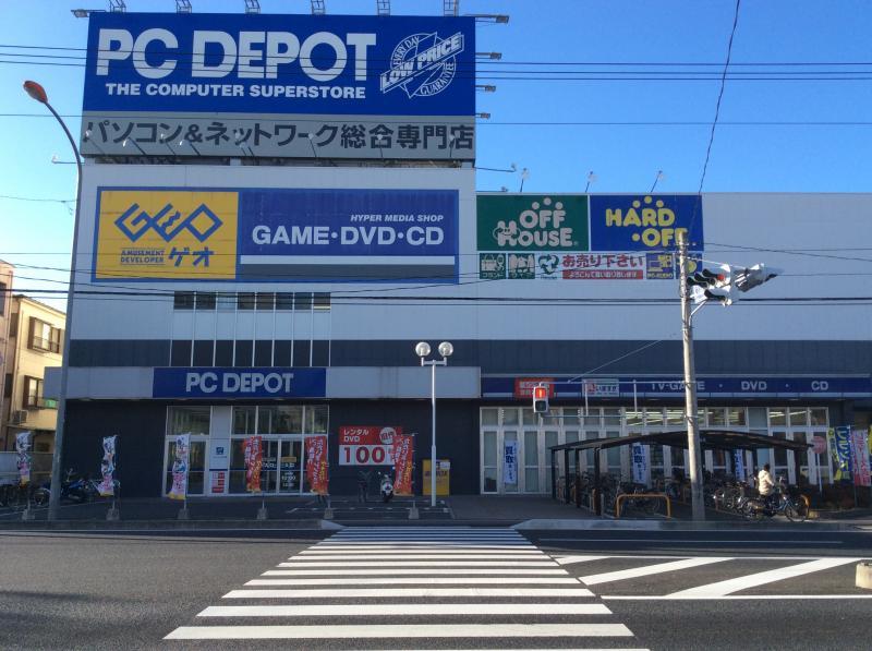 ゲオ 新狭山店