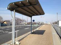 「海蔵橋」バス停留所