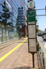 「隅田公園(西側)」バス停留所