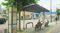「島瀬町」バス停留所