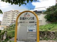 「芸大第3キャンパス前」バス停留所