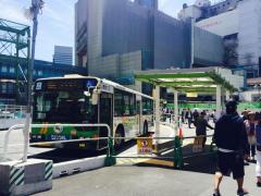 「渋谷駅前(東側)」バス停留所