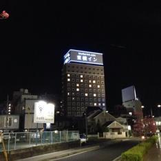 東横イン岡山駅西口右