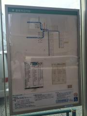 「護国寺正門前」バス停留所