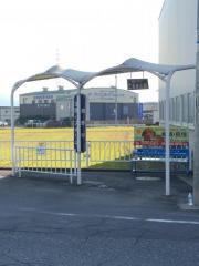 「西野村」バス停留所