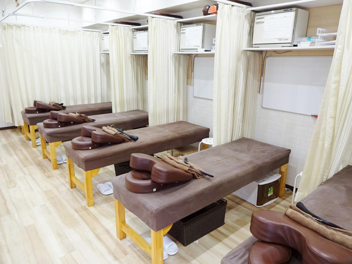 みつき鍼灸整骨院さんの室内