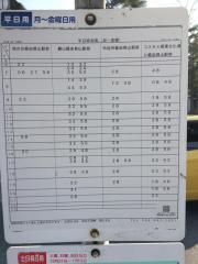 「安積高校」バス停留所