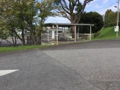 「聖心寮前」バス停留所