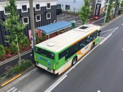 「上沼田団地」バス停留所