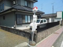 「窪田下町」バス停留所