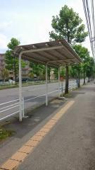 「菊間第三」バス停留所